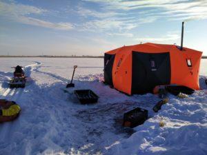 Палатка Куб Ex-Pro Winter 4