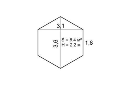 Пол для палатки в ПВХ-чехле (1 см)